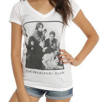 The Breakfast Club Group Girls V-Neck T-Shirt