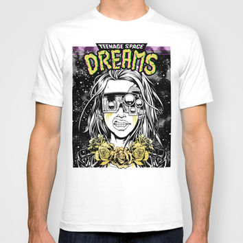 TEENAGE SPACE DREAMS T-shirt by Lokhaan