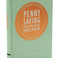 Penny Saving Household Helper | Mod Retro Vintage Books | ModCloth.com