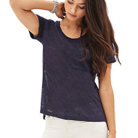 Loose Knit Pocket Tee