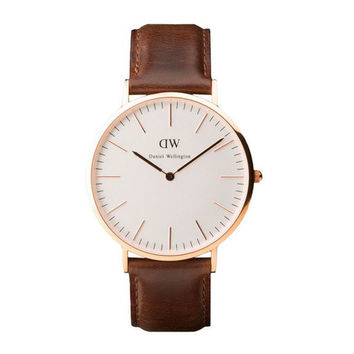 Daniel Wellington Watch - Classic Bristol Men - Rose Gold