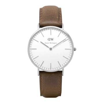 Daniel Wellington Watch - Classic Cardiff Men - Silver