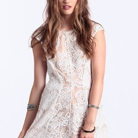 Your Shimmer Dream Lace Dress By Stylestalker