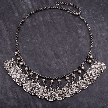 Arabic Coins Necklace