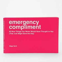 Emergency Compliment By Sourcebooks - Urban Outfitters