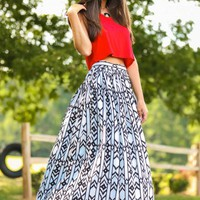 Glory Days Maxi Skirt