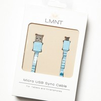 Womens Printed Sync Cable