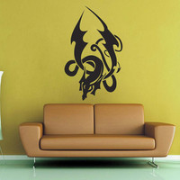 Celtic Knot Tribal Dragon Wall Decal