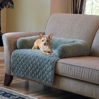 Plush Pet Cover with Bolster