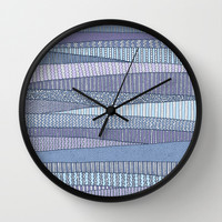 Winter Fields Wall Clock by Anita Ivancenko