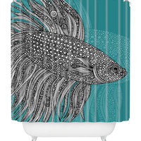 Valentina Ramos Beta Fish Shower Curtain | zulily