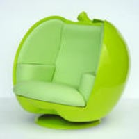 Description: Apple Chair - Green
