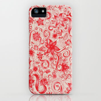 RED  iPhone & iPod Case by DuckyB (Brandi)