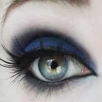 Matte Navy Blue Eyeshadow from Concrete Minerals