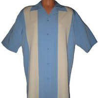 Mens Retro Bowling Shirt, BIG & TALL sizes: Medium, L, XL, 2XL, 3XL