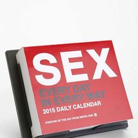 Sex Everyday 2015 Desk Calendar - Urban Outfitters
