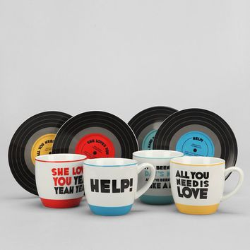The Beatles Mug Set  Urban Outfitters