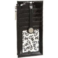 HOBO INTERNATIONAL Metro Slide Credit Card Case,Black,one size