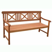 Balthazar Outdoor Wood Bench