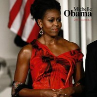 Michelle Obama 2012 FACES Square 12X12 Wall Calendar [Calendar]