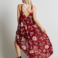Free People Womens Float on a Sunbeam Maxi - S