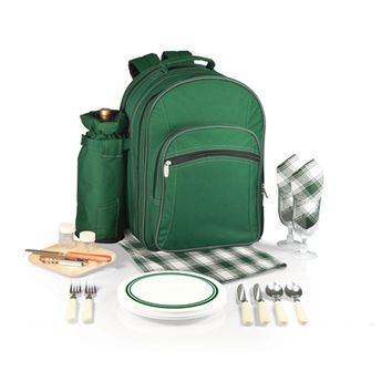 SheilaShrubs.com: Capri Picnic Tote & Backpack - Hunter Green 433-30-121-000-0 by Picnic Time : Picnic Baskets & Totes