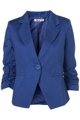 Ruched Jacket by Wal G** - Jackets & Coats - Clothing - Topshop