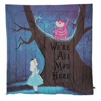 Disney Alice In Wonderland Were All Mad Here Full Comforter