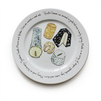 Goats Cheese Plate - Jersey Pottery