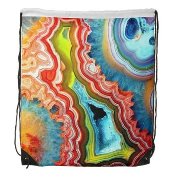 Igneous Rock Drawstring Backpack