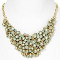 "Aqua Mint Green Cluster Bead Necklace, 17"" - New Arrivals - Bloomingdales.com"