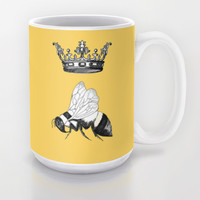 Queen Bee Mug by Catherine Holcombe | Society6