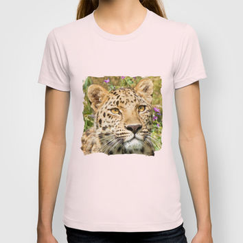 LEOPARD LOVE T-shirt by Catspaws | Society6