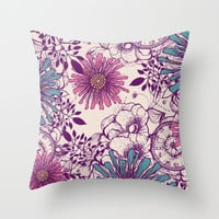 Beauty within Throw Pillow by rskinner1122