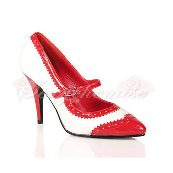 Patent Leather Pretty Pointed Toe Pumps [TQL120321111] - £46.59 :