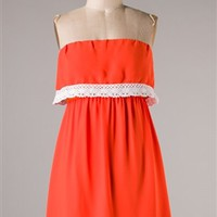 Gameday Dress Orange