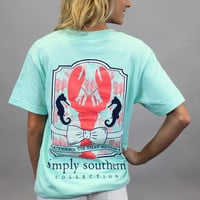 Simply Southern Tee - Lobster Tee