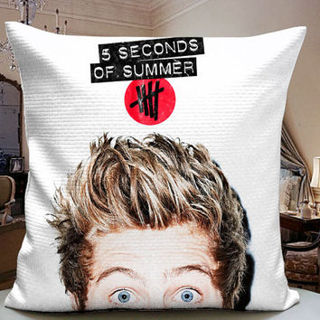 Luke Hemming 5SOS Cover Decorative Pilllow Cover 18x18 inches for One Side and Two Side
