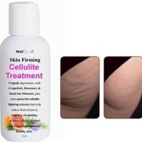 ★ Cellulite Treatment Gel Cream for Skin Firming and Tightening ★- ORGANIC Cellulite Reduction and Removal Cream That Works! Powerful Grapefruit, Rosemary, Dead Sea Minerals & Other Extracts Provide Anti Cellulite Properties to Get Rid of Cellulite Dimples