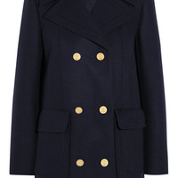 Valentino - Wool-blend peacoat