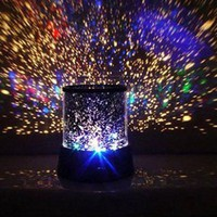Mokingtop(TM) New Fashion New Romantic Colourful Cosmos Star Master LED Projector Lamp Night Light Gift
