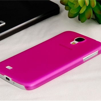 Ultrathin TPU Case for Samsung Galaxy S4
