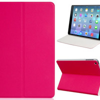 Eleganto Synthetic Leather Fold Case with Built-in Shell for iPad Air