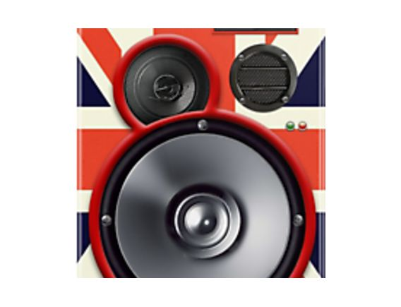 Union Jack Speaker Phone cover