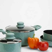 Speckled 7-Piece Cookware Set - Urban Outfitters