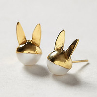 Bunny Pearl Posts by Benedicte Pearl One Size Earrings