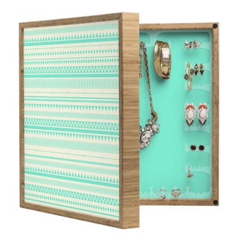 Allyson Johnson Mint Tribal BlingBox Petite