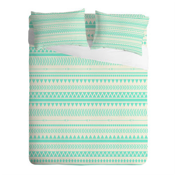 Allyson Johnson Mint Tribal Sheet Set