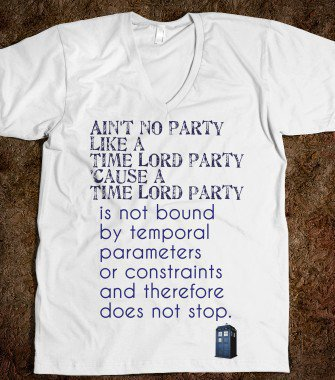 Time Lord Party - Twit Shirts