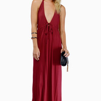 Tie It Up Maxi Dress $62